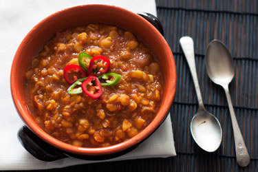 Indian tomato dal
