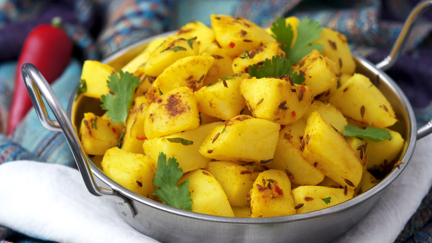 Jeera Aloo Potatoes With Cumin The Vegan Corner