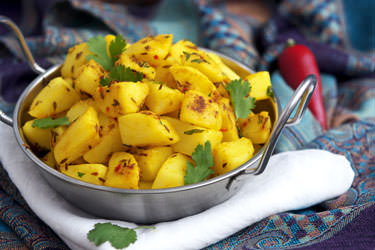 Jeera Aloo (Potatoes with Cumin)