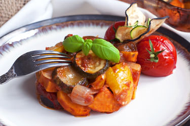 Mediterranean vegetable casserole